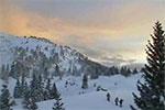 Nocturne Monts Jura à Lelex